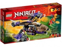 LEGO Ninjago. Atak śmigłowca Condrai - zdjęcie zabawki, gry