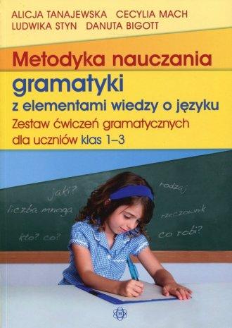 Metodyka nuczania gramatyki z elementami - okładka książki