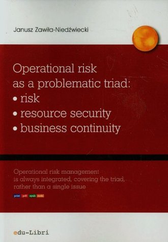 Operational risk as a problematic - okładka książki