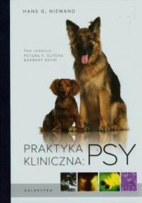 Praktyka kliniczna. Psy - okładka książki