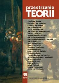 Przestrzenie Teorii 22/2014 - okładka książki