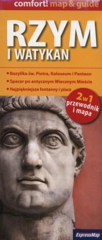 Rzym i Watykan 2 w 1. Przewodnik - okładka książki