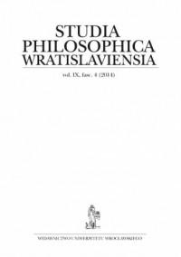 Studia Philosophica Wratislaviensia vol. IX, fasc. 4 (2014) - okładka książki