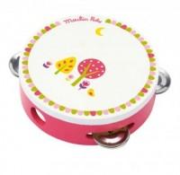 Tamburyno różowe - zdjęcie zabawki, gry