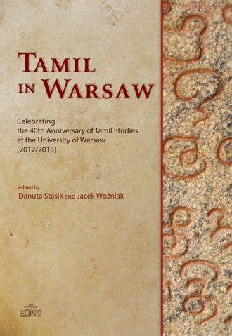 Tamil in Warsaw. Celebrating the - okładka książki