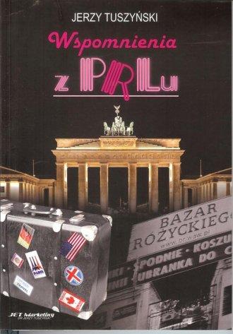 Wspomnienia z PRL-u - okładka książki
