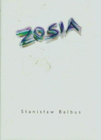 Zosia - okładka książki