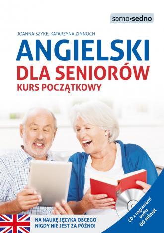 Angielski dla seniorów. Kurs początkowy - okładka podręcznika