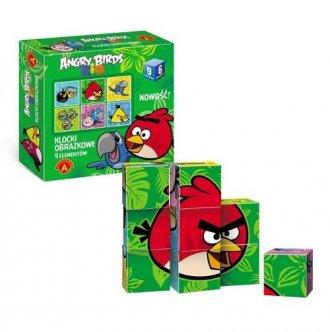 Angry birds Rio. Klocki obrazkowe - zdjęcie zabawki, gry