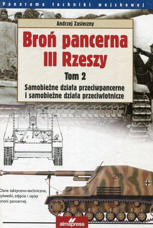 Broń pancerna III Rzeszy. Tom 2. - okładka książki