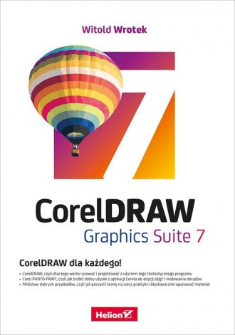 CorelDRAW Graphics Suite 7 - okładka książki