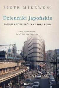 Dzienniki japońskie. Zapiski z roku Królika i roku Konia - okładka książki
