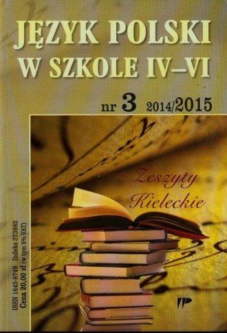 Język Polski w szkole 4-6. Zeszyty - okładka książki