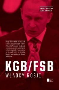 KGB/FSB władcy Rosji - okładka książki