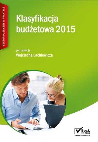 Klasyfikacja budżetowa 2015 - okładka książki