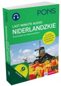 Last Minute audio. Rozmówki ze słowniczkiem niderlandzkie - okładka podręcznika