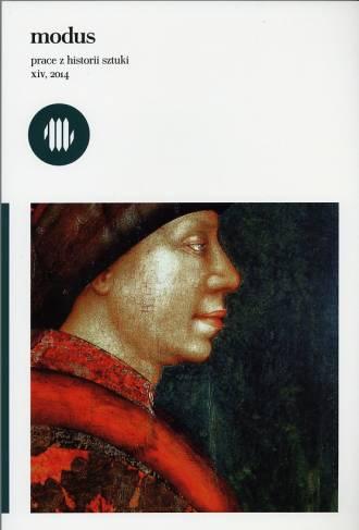 Modus. Prace z Historii Sztuki, - okładka książki