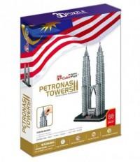 Petronas Towers (puzzle 3D) - zdjęcie zabawki, gry