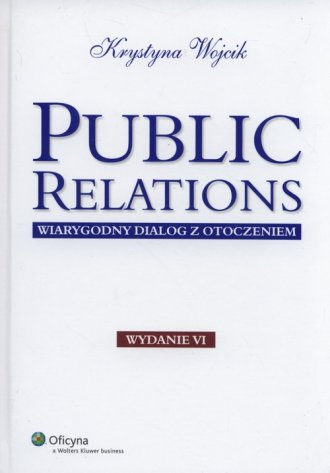 Public relations. Wiarygodny dialog - okładka książki