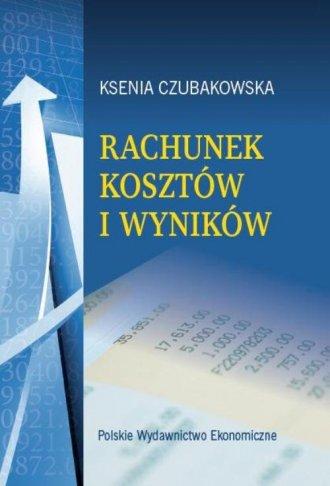 Rachunek kosztów i wyników - okładka książki