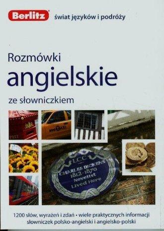Rozmówki angielskie ze słowniczkiem - okładka podręcznika