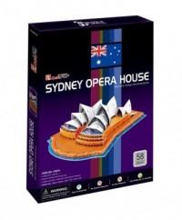 Sydney Opera House (puzzle 3D) - zdjęcie zabawki, gry