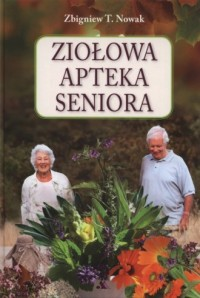 Ziołowa apteka seniora - okładka książki