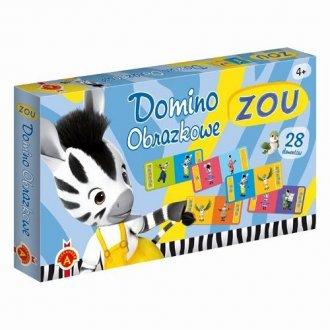 Zou. Domino - zdjęcie zabawki, gry