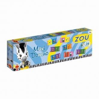 Zou. Domino maxi - zdjęcie zabawki, gry