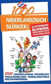 1000 Nniderlandzkich słówek. Ilustrowany słownik niderlandzko-polski, polsko-niderlandzki - okładka podręcznika