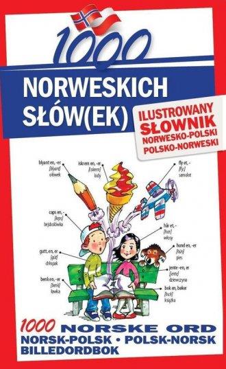 1000 norweskich słówek. Ilustrowany - okładka podręcznika
