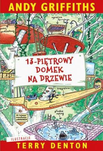13-piętrowy domek na drzewie - okładka książki
