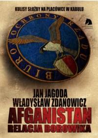 Afganistan. Relacja BORowika - okładka książki