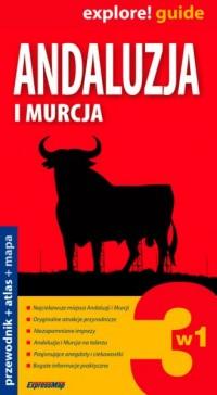 Andaluzja i Murcja 3 w 1. Przewodnik - okładka książki
