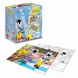 Zou (puzzle do kolorowania 2 x - zdjęcie zabawki, gry