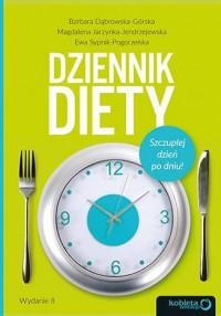 Dziennik diety. Szczuplej dzień po dniu! - okładka książki