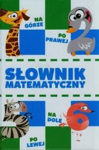 Edukacja. Słownik matematyczny - okładka podręcznika