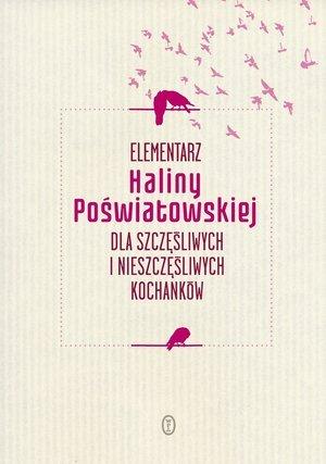 Elementarz Haliny Poświatowskiej - okładka książki