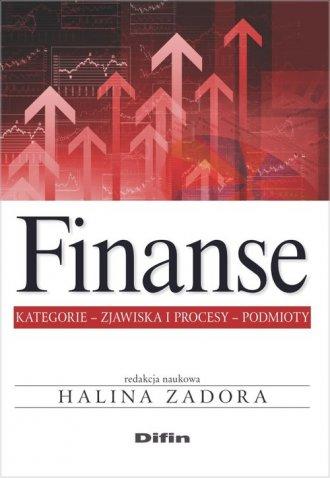 Finanse. Kategorie, zjawiska i - okładka książki