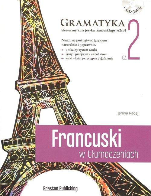 Francuski w tłumaczeniach. Gramatyka - okładka książki