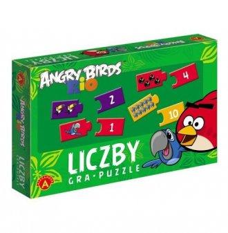 Liczby. Angry Birds Rio - zdjęcie zabawki, gry