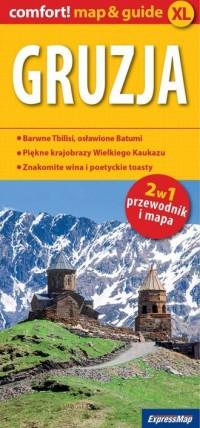 Gruzja 2 w 1. Przewodnik + mapa - okładka książki