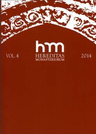 Hereditas Monasteriorum Vol. 4 - okładka książki