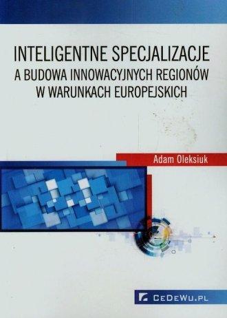 Inteligentne specjalizacje a budowa - okładka książki