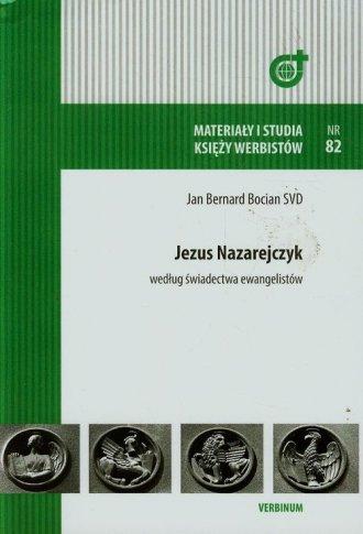 Jezus Nazarejczyk według świadectwa - okładka książki