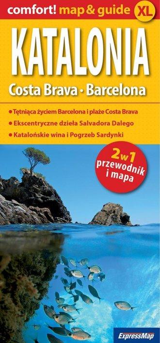 Katalonia, Costa Brava, Barcelona - okładka książki