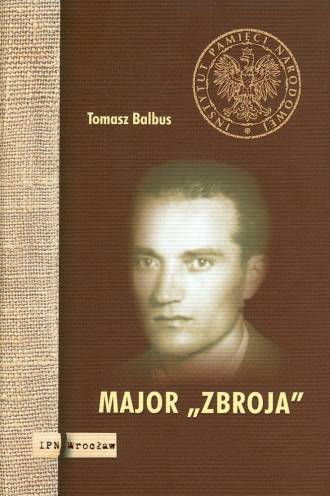 Major ZBROJA - okładka książki
