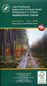 Nadleśnictwo Czersk mapa turystyczna (skala 1: 30 000) - okładka książki