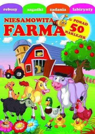 Niesamowita farma 1 - okładka książki
