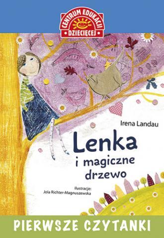 Pierwsze czytanki. Lenka i magiczne - okładka książki